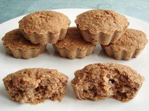 recette muffins hyperprot in s c r ales pommes et son d 39 avoine sans oeufs sans sucre et sans. Black Bedroom Furniture Sets. Home Design Ideas