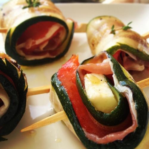 Recettes de antipasti - Antipasti legumes grilles ...