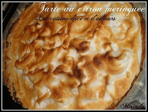 Recettes de tarte au citron - Recette tarte citron meringuee ...