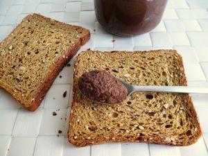 recette p te tartiner di t tique pralin e l 39 inuline d 39 agave sans sucre et sans beurre. Black Bedroom Furniture Sets. Home Design Ideas
