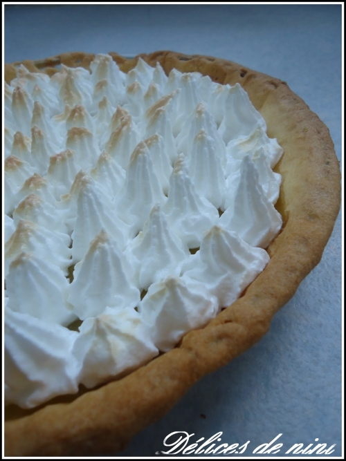 Recette tarte au citron meringu e 186243 - Recette tarte au citron sans meringue ...