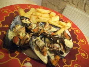 moules curry madras