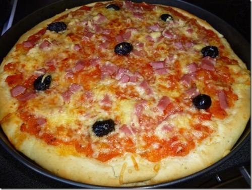 recettes de pate a pizza. Black Bedroom Furniture Sets. Home Design Ideas