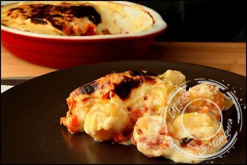 recette gratin de potiron et pommes de terre 188383. Black Bedroom Furniture Sets. Home Design Ideas