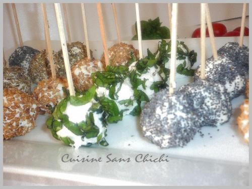 recette cake pops aux tomates cerise et ch vre frais. Black Bedroom Furniture Sets. Home Design Ideas