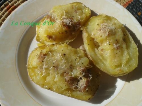 Recettes de saucisse 2 - Pomme de terre farcie chair a saucisse ...