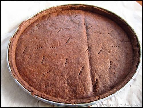 Recette fond de tarte sabl au chocolat de yann couvreur - Recette fond de tarte ...