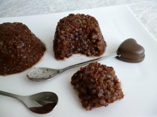 Recette g teaux de riz de konjac au cacao cru et au psyllium sans sucre ni oeufs ni beurre - Gateau sans sucre ni beurre ...