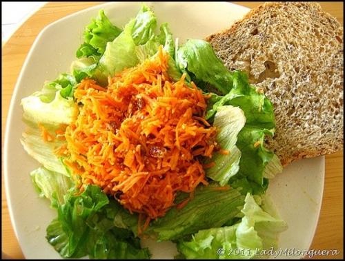 recette salade de carottes la marocaine 190142. Black Bedroom Furniture Sets. Home Design Ideas