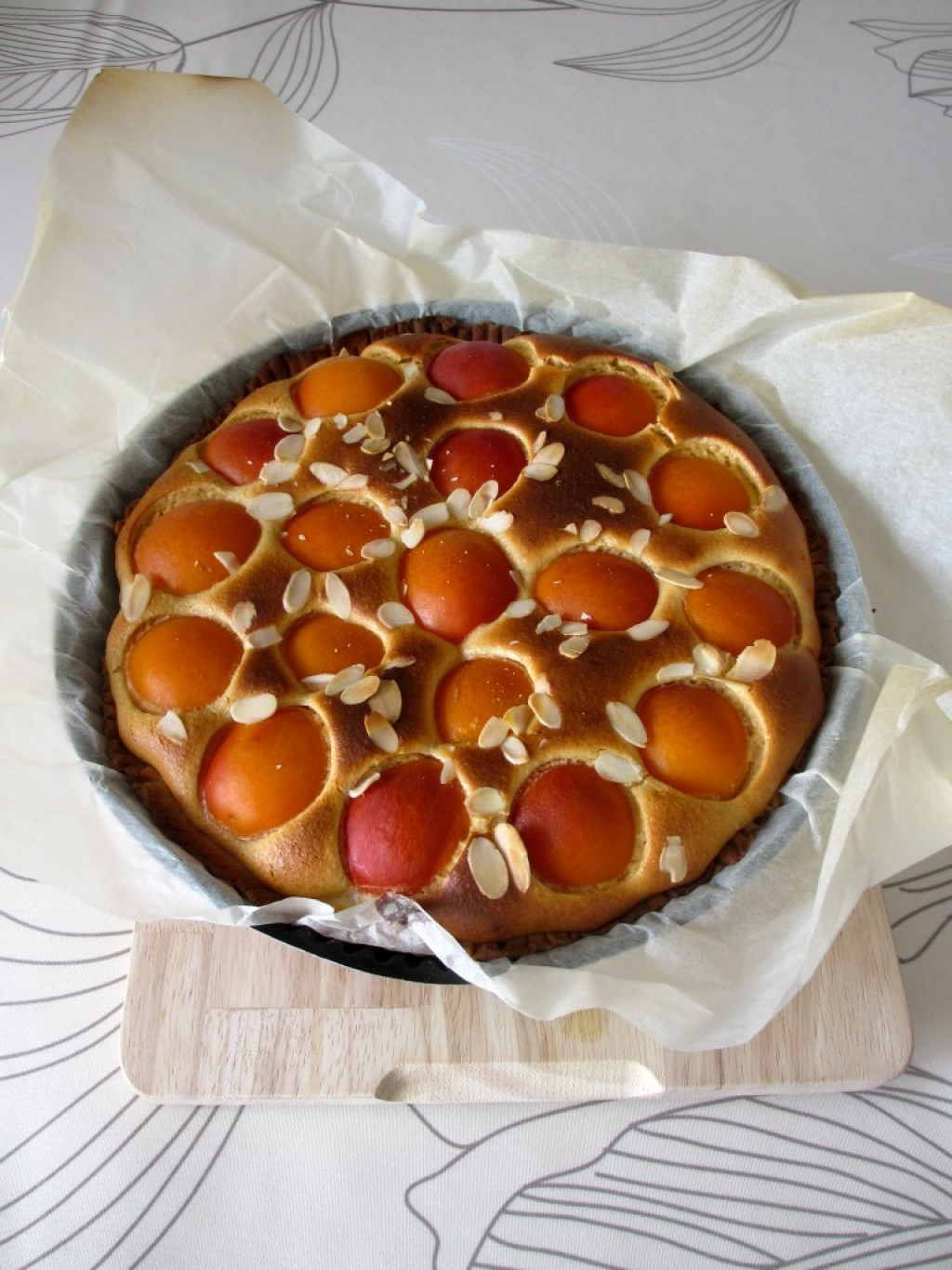 Recette tarte aux abricots 190794 - Recette de tarte aux abricots ...
