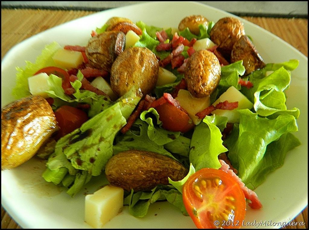 recette de salade verte composée
