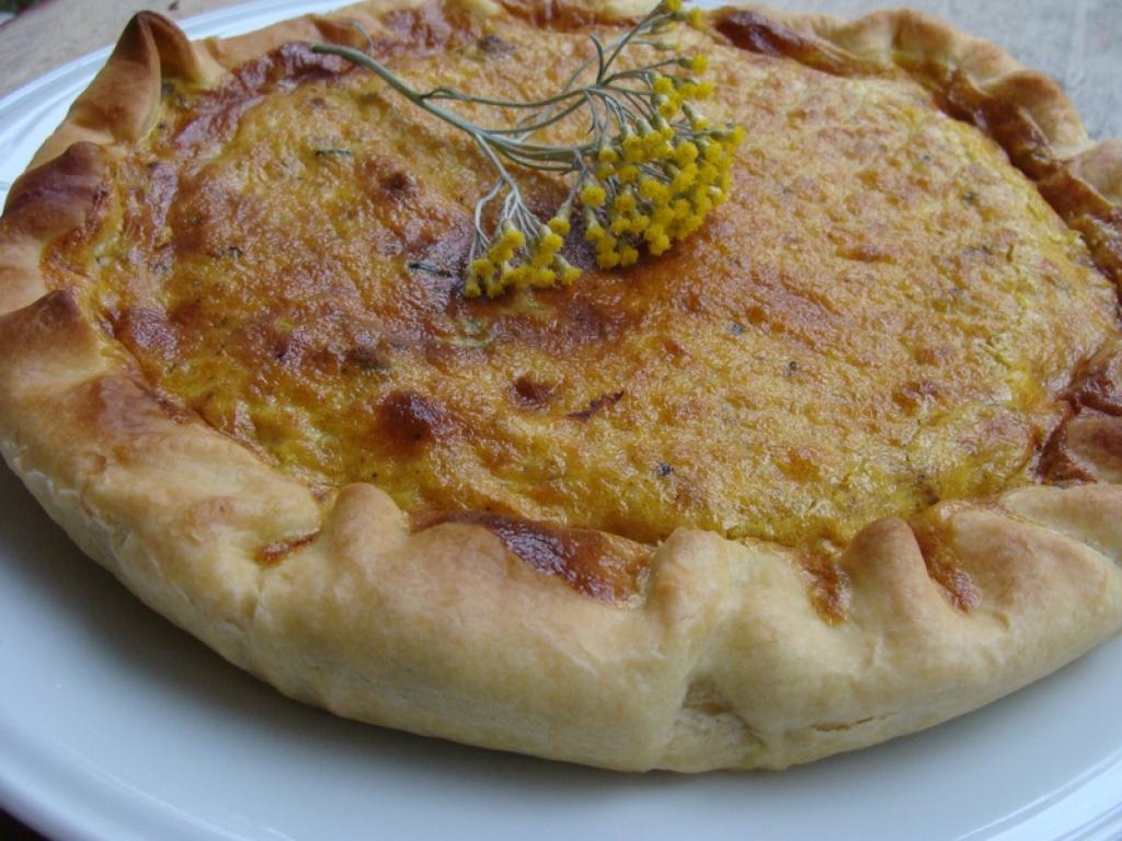 recette tarte courgettes lardons curry. Black Bedroom Furniture Sets. Home Design Ideas