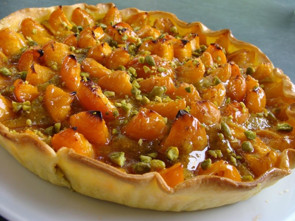 Recettes de pistache 2 - Recette de tarte aux abricots ...
