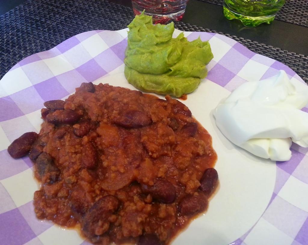 Recettes de plat principal - Chili con carne maison ...