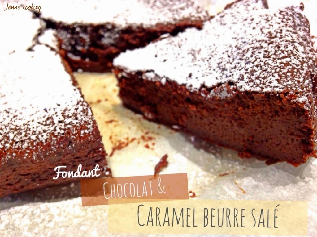 Recette fondant au chocolat caramel beurre sal - Fondant caramel beurre sale ...