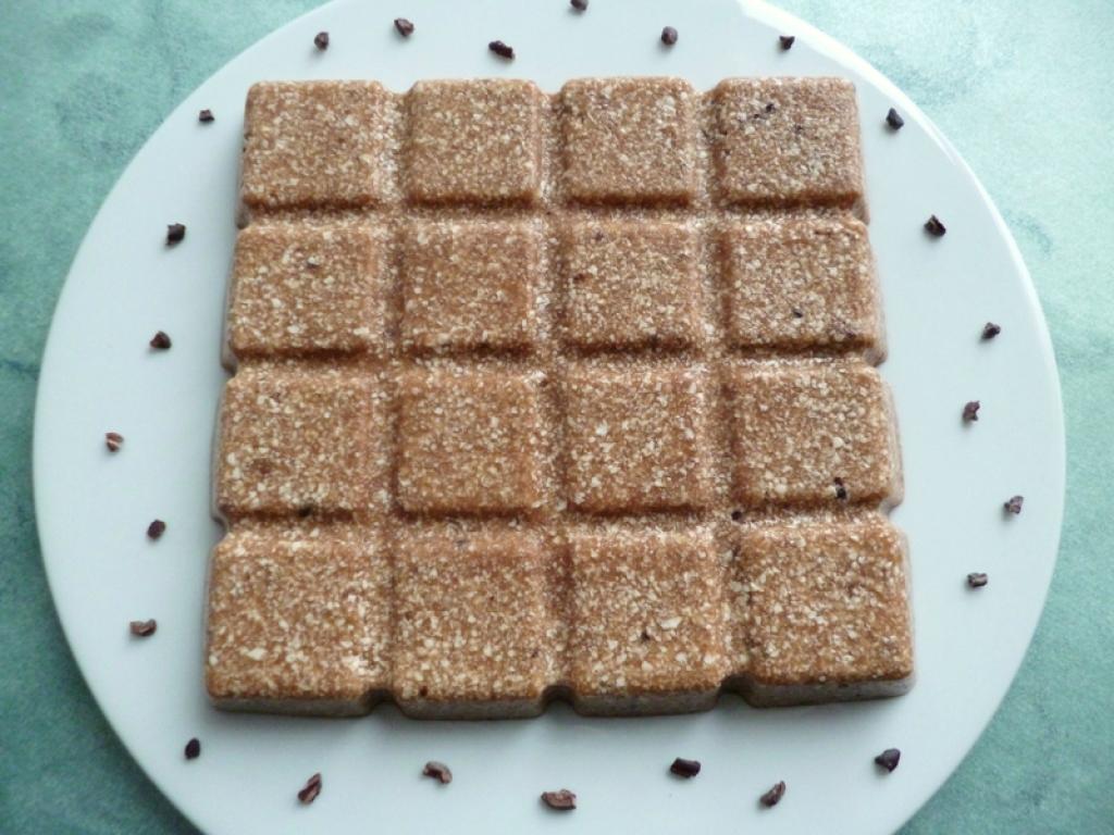 Recette g teau vanille pralin aux f ves de cacao au tofu et au son d 39 avoine sans oeufs sans - Gateau sans beurre sans lait ...