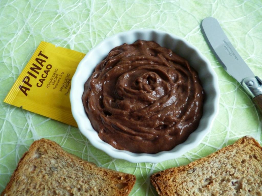 recette tartinade di t tique all g e au cacao apinat seulement 10 kcal sans sucre ni beurre. Black Bedroom Furniture Sets. Home Design Ideas