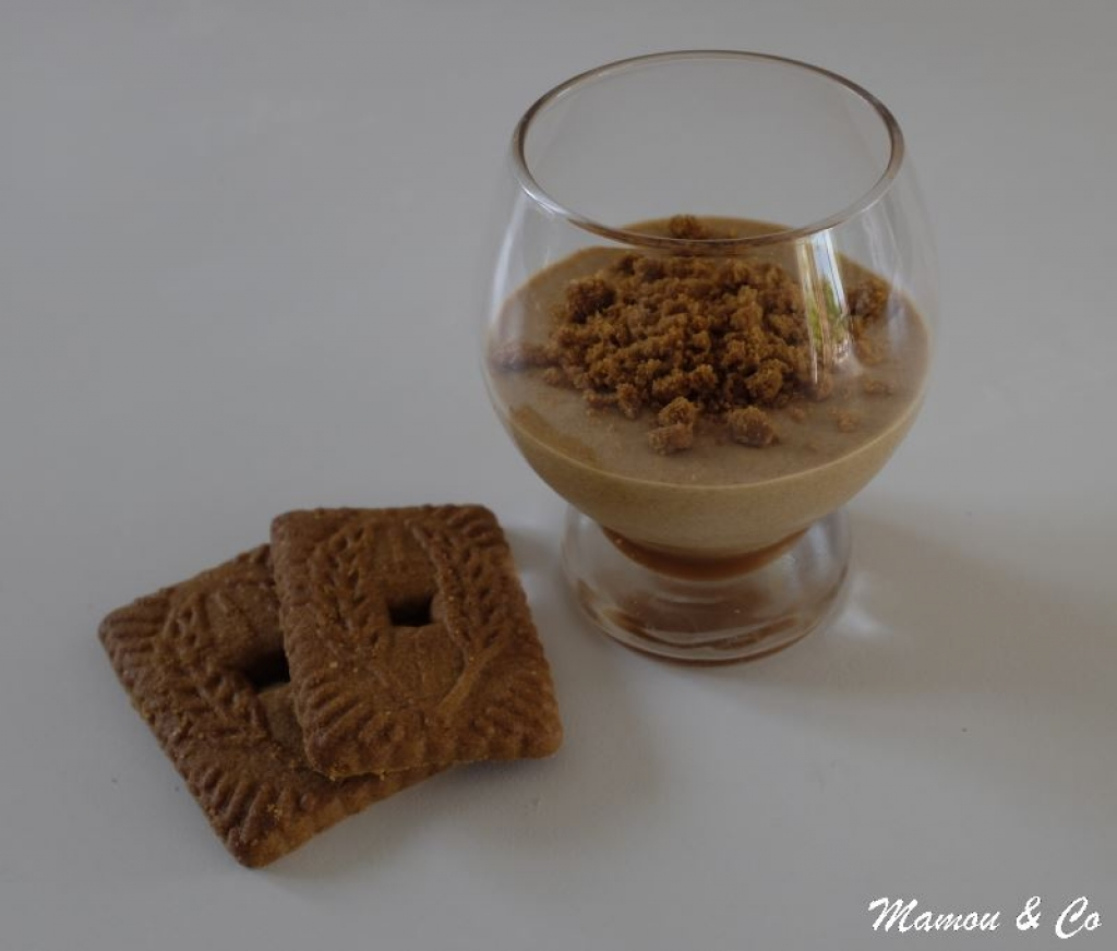 recette mousse de sp culoos sur lit de caramel. Black Bedroom Furniture Sets. Home Design Ideas