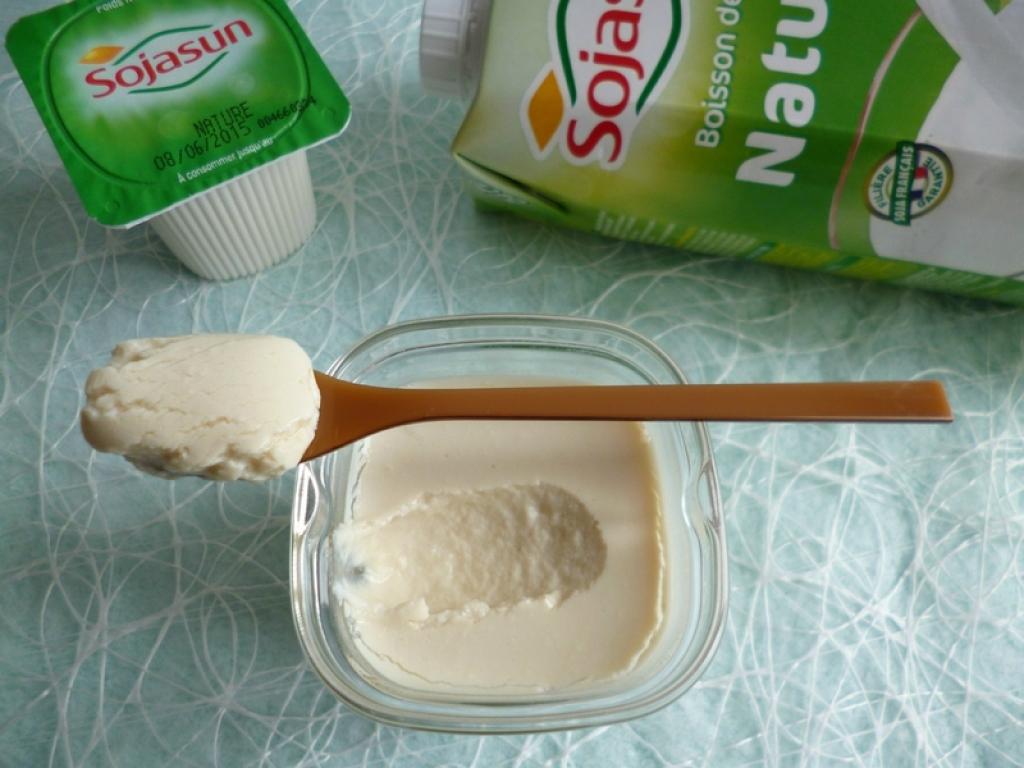 recette yaourts de soja maison seulement 45 kcal et. Black Bedroom Furniture Sets. Home Design Ideas