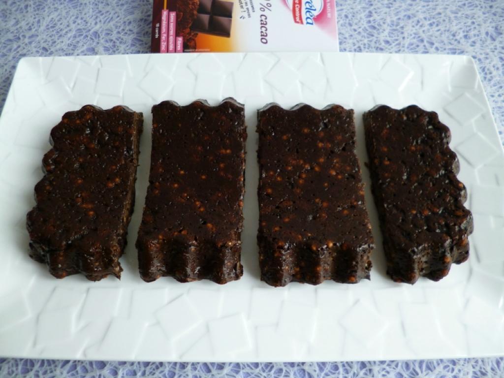 Recette fondant chocolat cacahu te au konjac avec riz et bl souffl s di t tique hyperprot in - Recette fondant au chocolat sans oeuf ...
