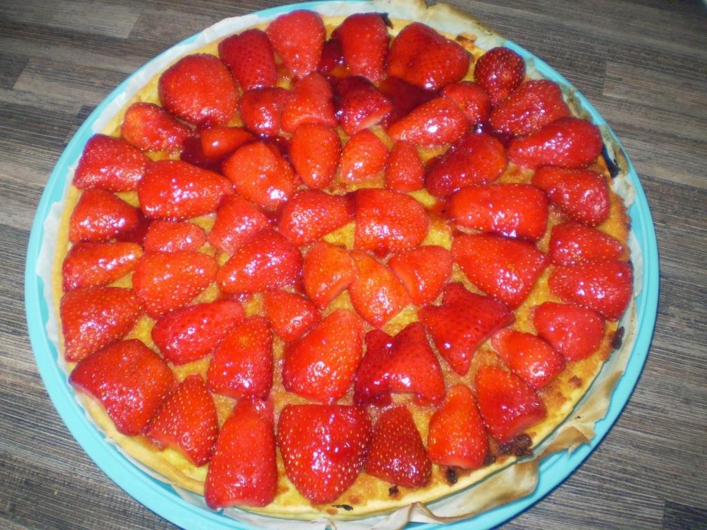 recettes de tarte aux fraises. Black Bedroom Furniture Sets. Home Design Ideas