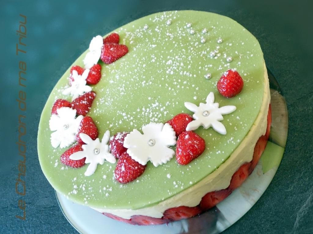 Great herv cuisine fraisier photos cuisine fraisier - Herve cuisine buche de noel ...