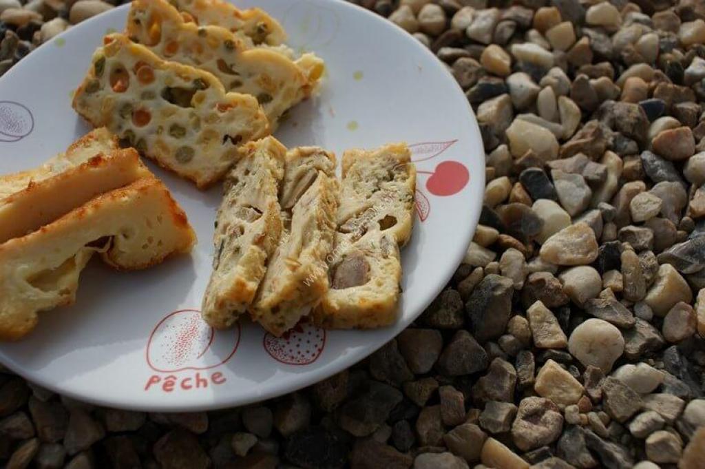 Recette Cakes Sal S Petits Pois Carottes Ma S Thon Et Fromage Au Thermomix De Vorwerk