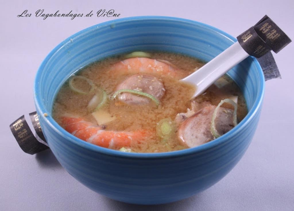 recette soupe miso aux crevettes. Black Bedroom Furniture Sets. Home Design Ideas