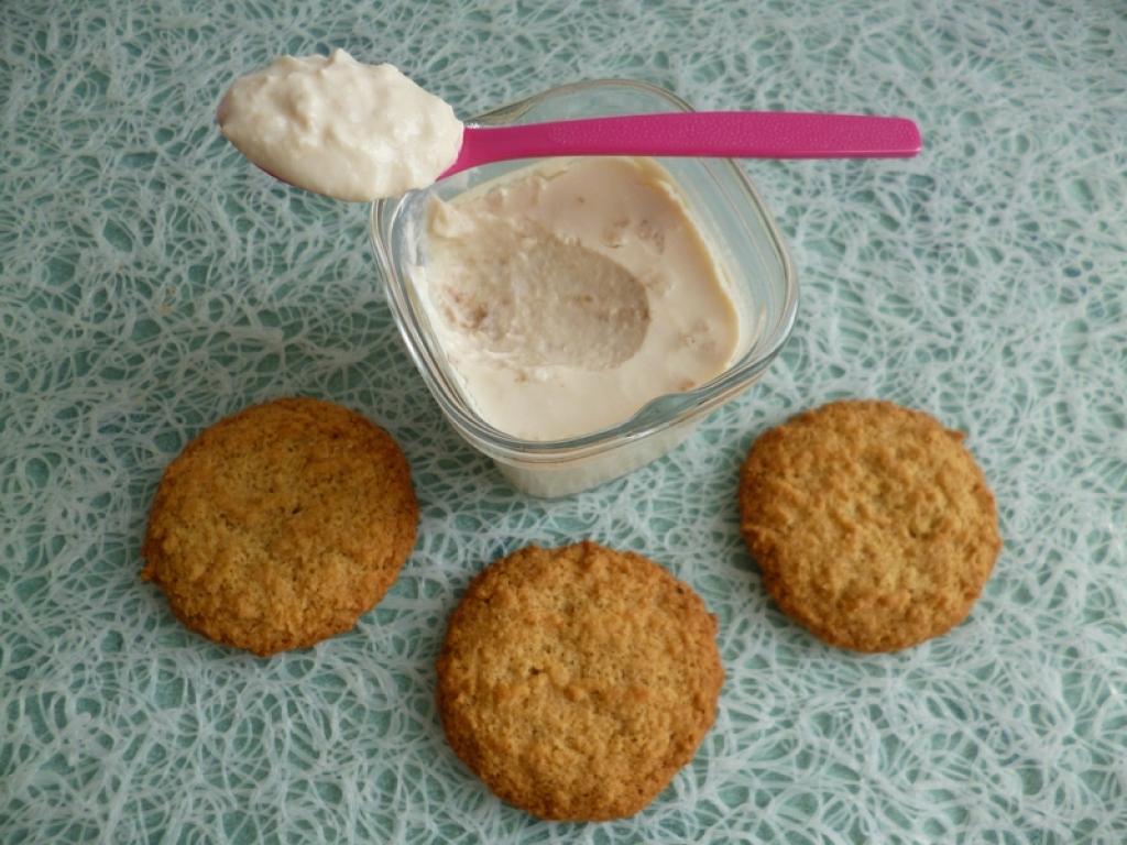 recette yaourts soja maison aux biscuits vanille coco di t tiques sans sucre et riches en fibres. Black Bedroom Furniture Sets. Home Design Ideas