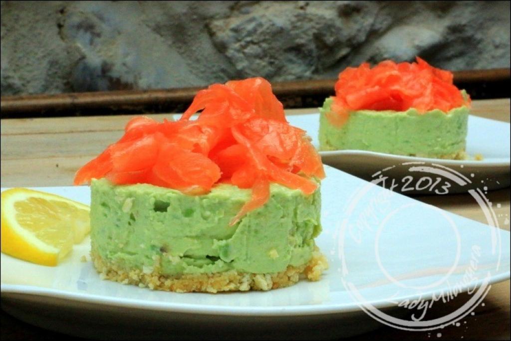 Cake Crabe Tomate