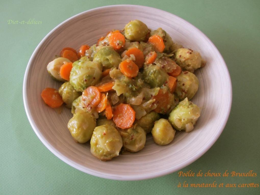 Recette po l e de choux de bruxelles la moutarde et aux carottes - Planter choux de bruxelles ...