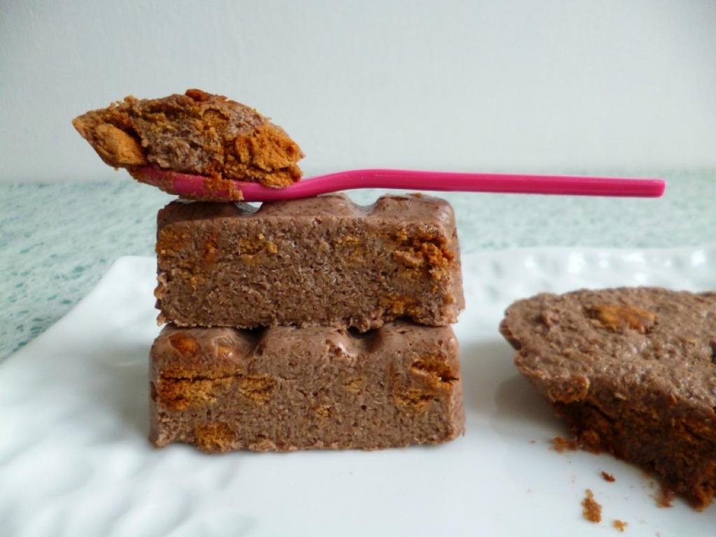 Recette g teaux crus hyperprot in s au chocolat et aux biscuits speculoos minceur di t tiques - Gateau au chocolat sans sucre ...