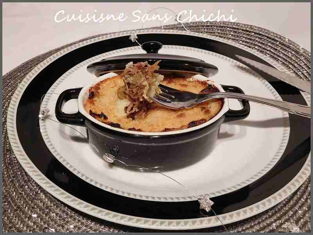 recette parmentier au confit de canard 194413. Black Bedroom Furniture Sets. Home Design Ideas