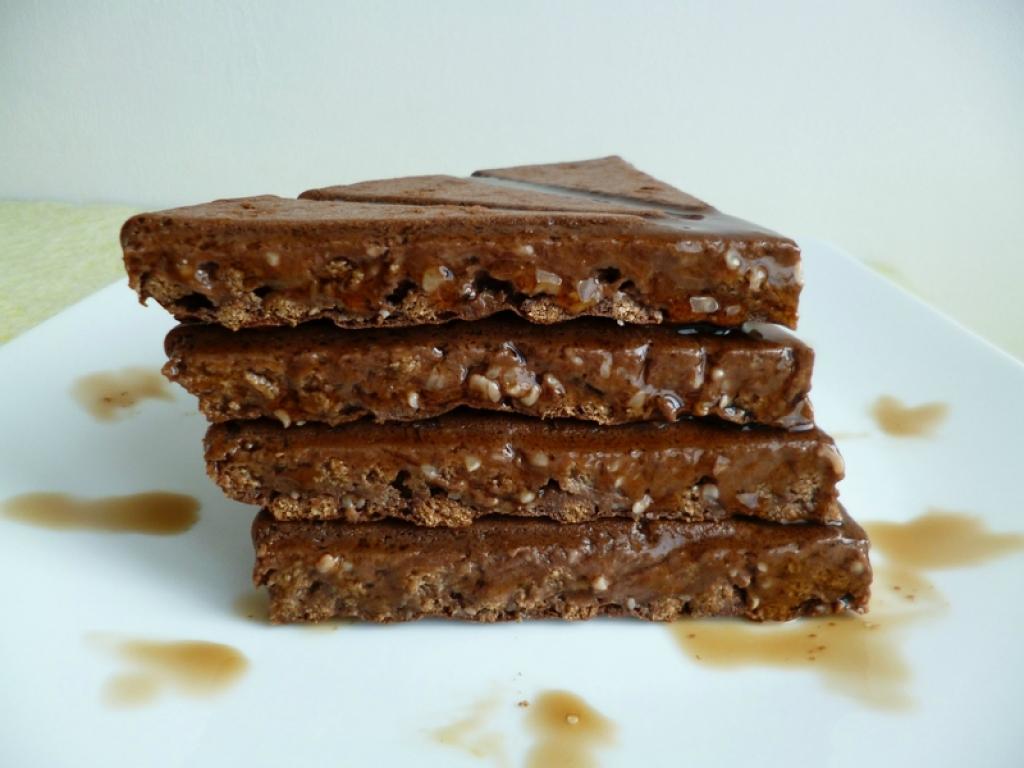 Recette g teau hyperprot in di t tique chocolat pomme multifibres au riz de konjac sans sucre - Gateau sans sucre ni beurre ...