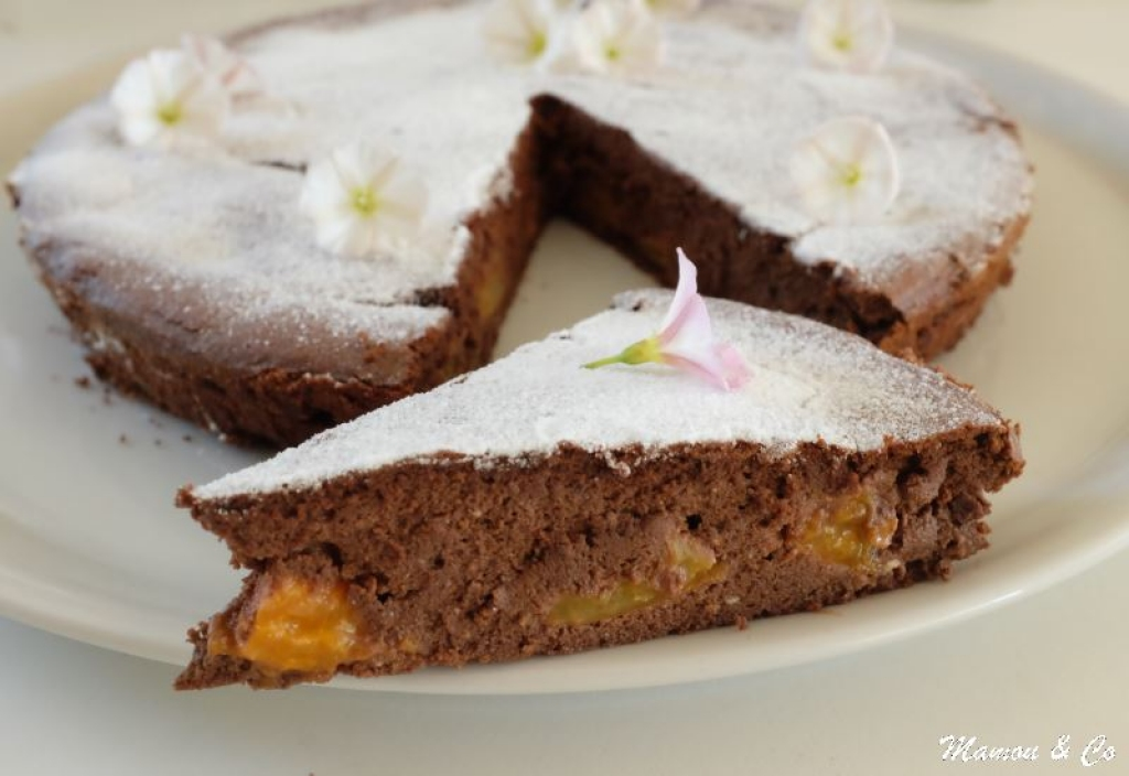 recette fondant au chocolat abricots et ricotta sans gluten. Black Bedroom Furniture Sets. Home Design Ideas