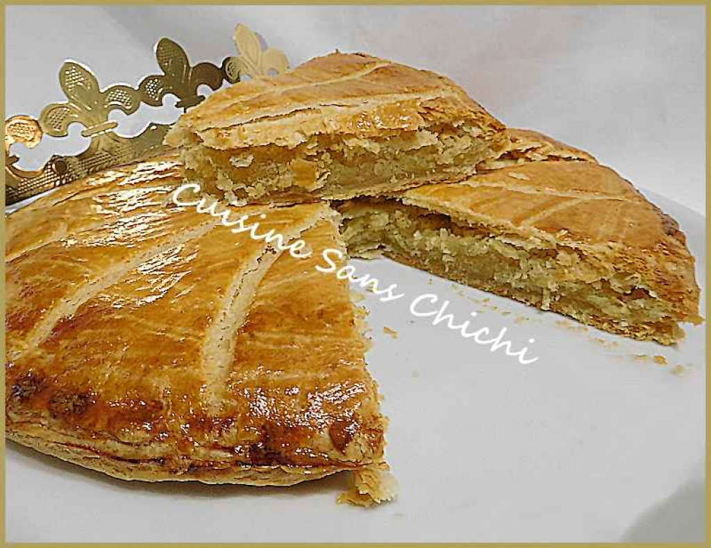 recette galette des rois la cr me d 39 amandes p te feuillet maison. Black Bedroom Furniture Sets. Home Design Ideas